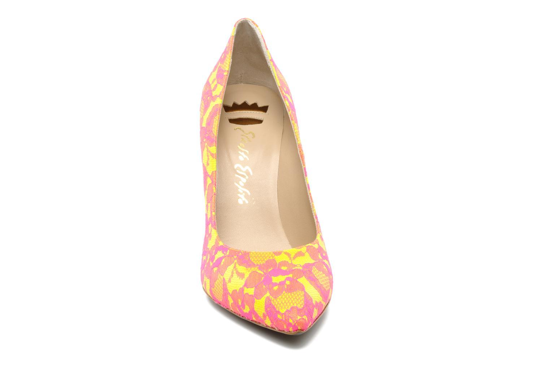 Escarpins Ernesto Esposito Etzi Rose vue portées chaussures