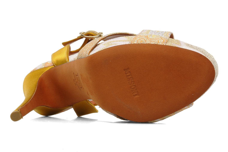 Sandales et nu-pieds Missoni Mabelle Multicolore vue haut