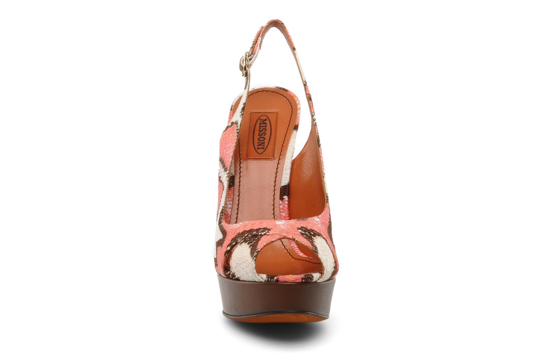 Sandales et nu-pieds Missoni Meissa Multicolore vue portées chaussures