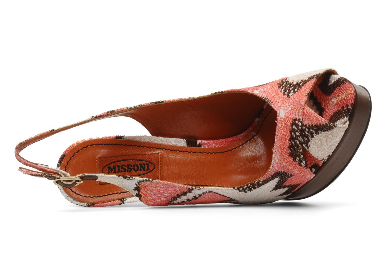 Sandales et nu-pieds Missoni Meissa Multicolore vue gauche