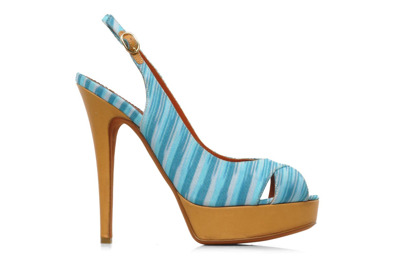 Sandales et nu-pieds Missoni Miranie Multicolore vue derrière