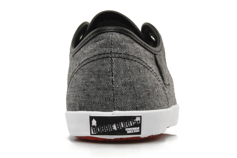 Sneakers Bobbie Burns Basic low textile M Grigio immagine destra