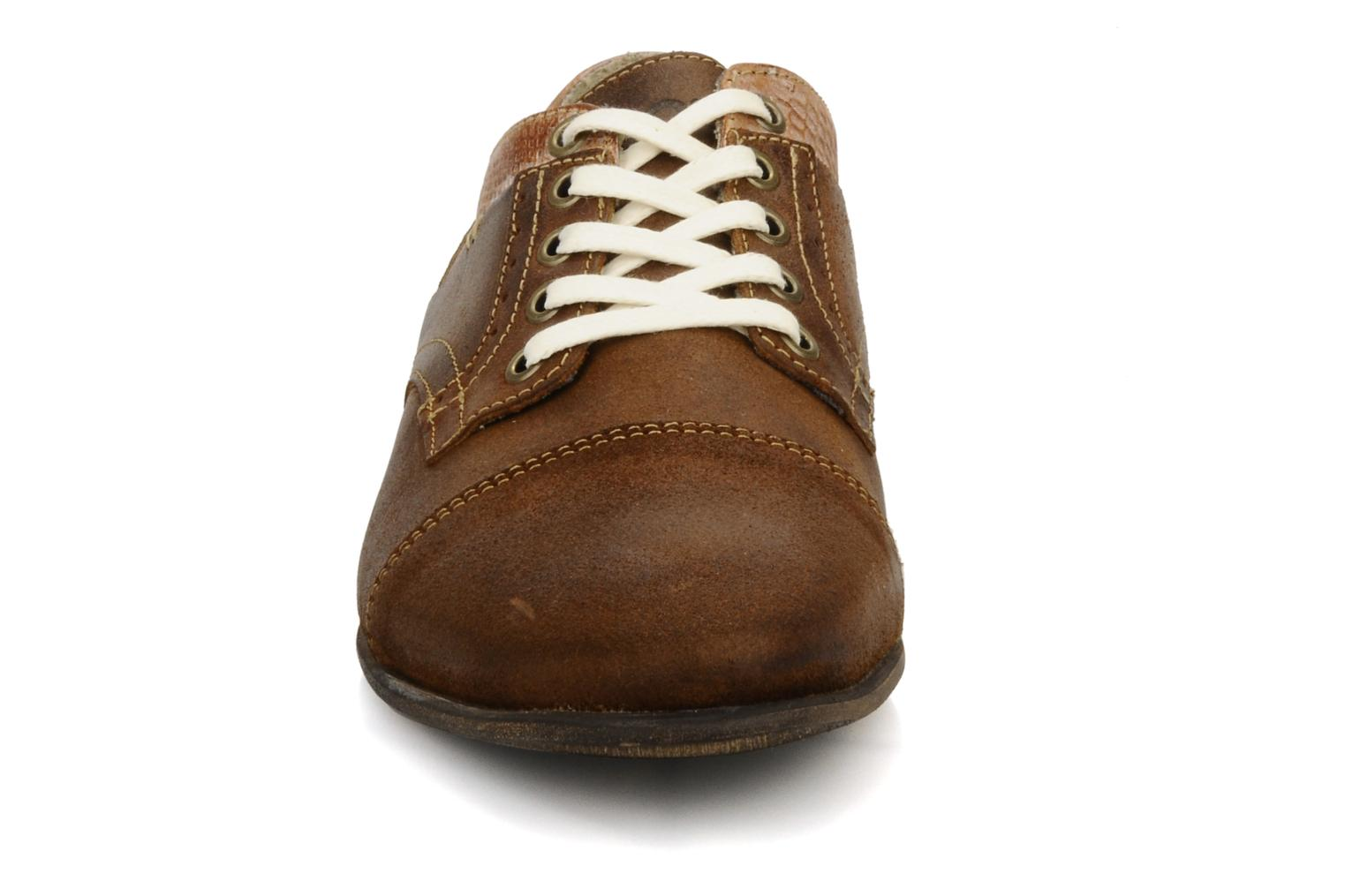 Lace-up shoes Bullboxer Herma Brown model view