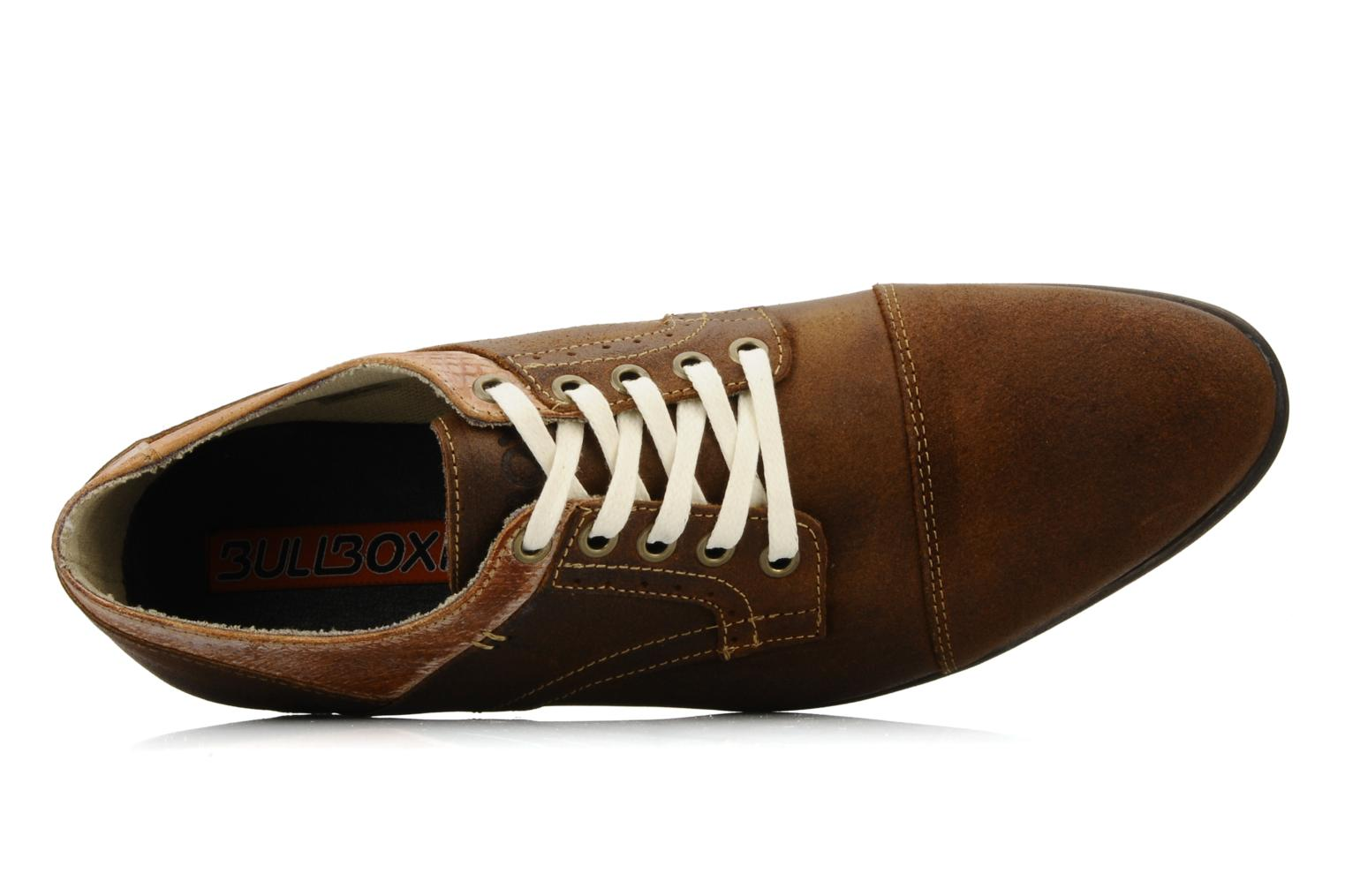 Lace-up shoes Bullboxer Herma Brown view from the left
