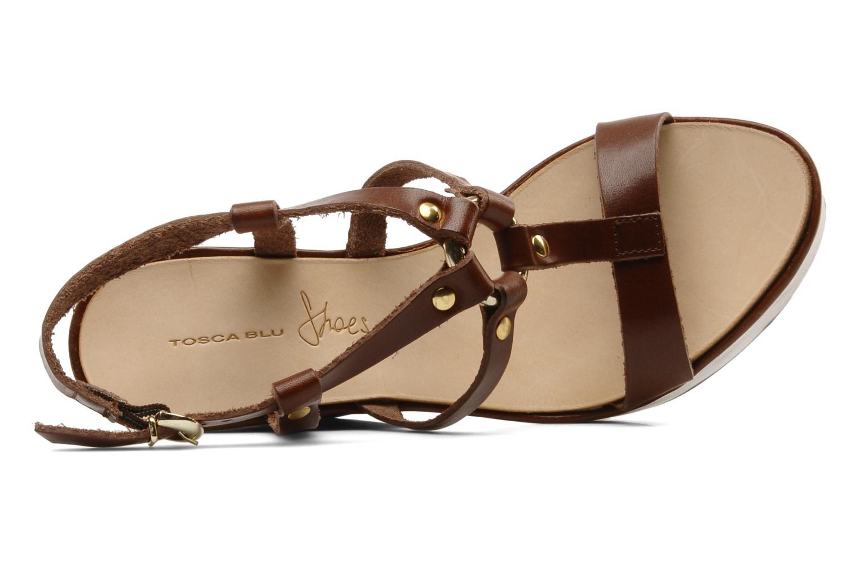 Sandalen Tosca Blu Shoes Girasole Bruin links