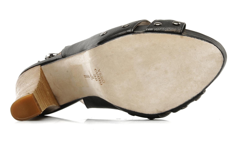 Sandalen Tosca Blu Shoes Ninfea schwarz ansicht von oben