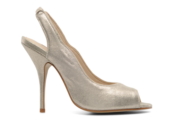Zapatos de tacón Studio TMLS Malaysia Oro y bronce vistra trasera