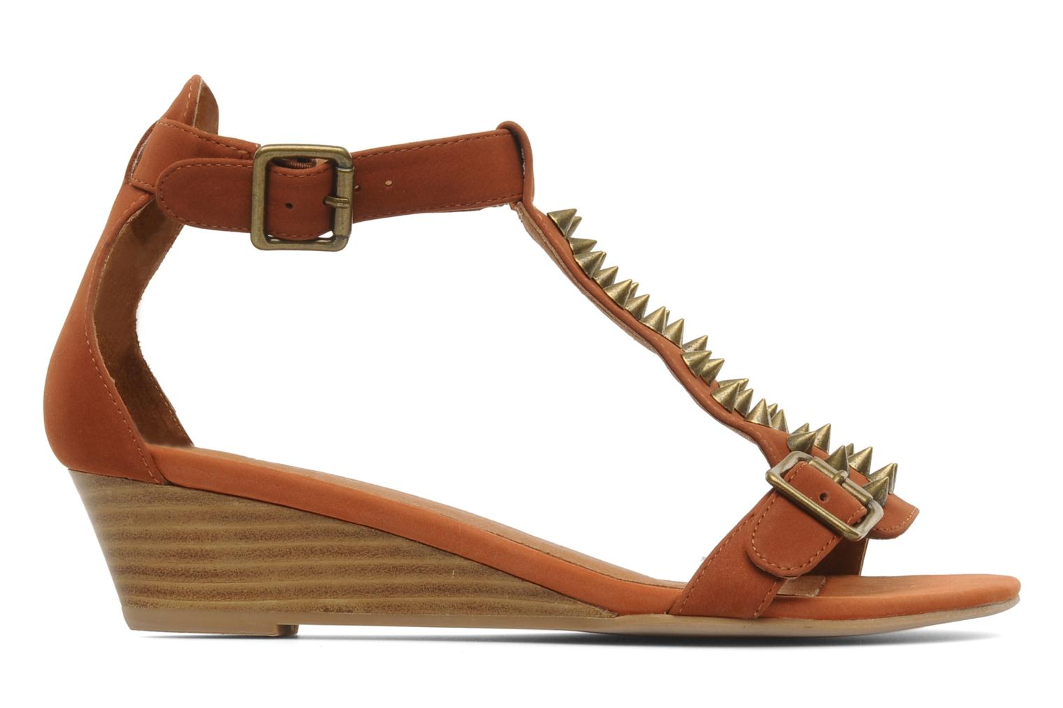 Sandals Jeffrey Campbell Barbary Spike Brown back view