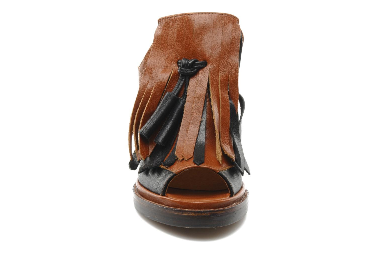 Mules et sabots Jeffrey Campbell McShane Marron vue portées chaussures