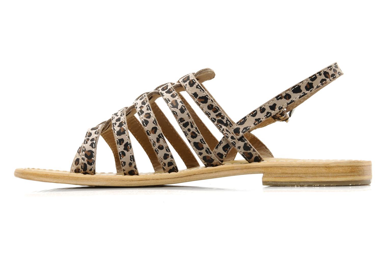 Sandalen Les Tropéziennes par M Belarbi Leopard mehrfarbig ansicht von vorne