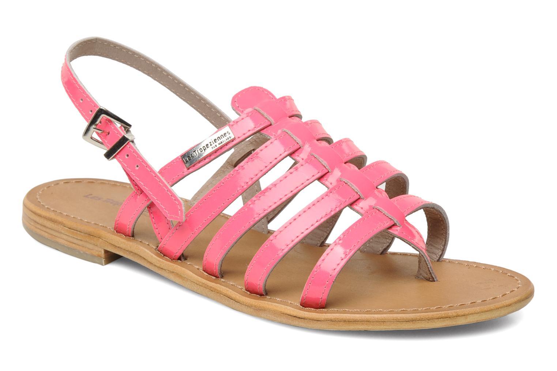 Sandales et nu-pieds Les Tropéziennes par M Belarbi Herflash Rose vue détail/paire
