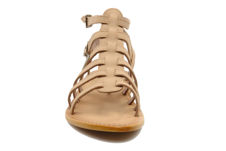Sandalen Les Tropéziennes par M Belarbi Hortense beige schuhe getragen