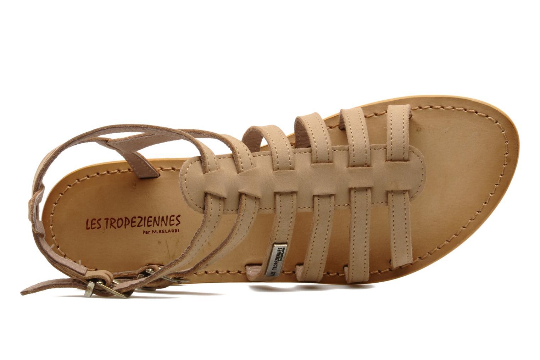 Sandalen Les Tropéziennes par M Belarbi Hortense beige ansicht von links