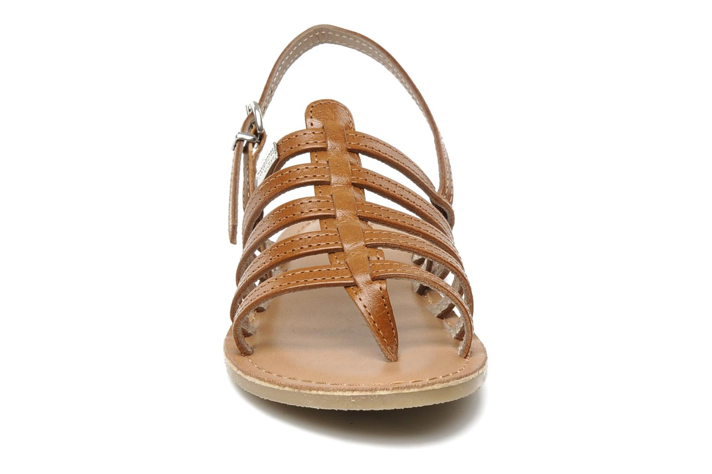Sandalen Les Tropéziennes par M Belarbi Herisson E braun schuhe getragen