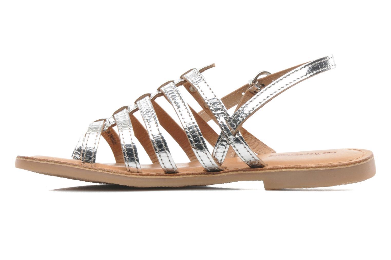 Sandali e scarpe aperte Les Tropéziennes par M Belarbi Herisson E Argento immagine frontale