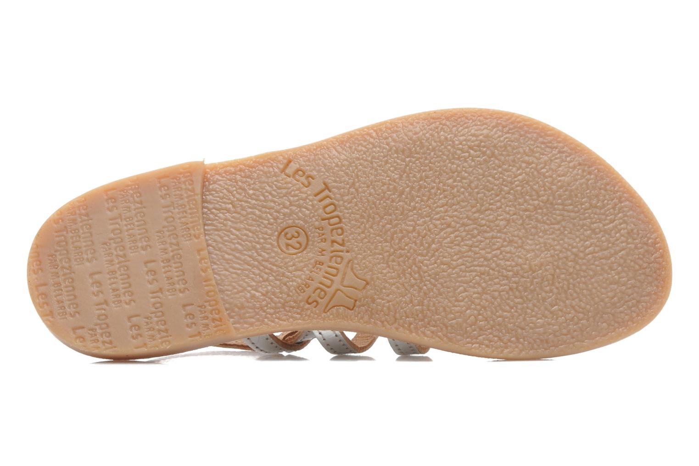 Sandales et nu-pieds Les Tropéziennes par M Belarbi Herisson E Argent vue haut