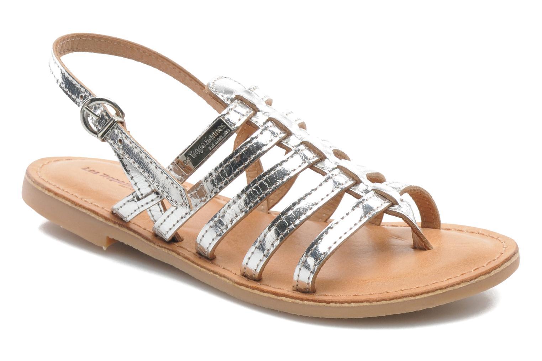 Sandales et nu-pieds Les Tropéziennes par M Belarbi Herisson E Argent vue détail/paire