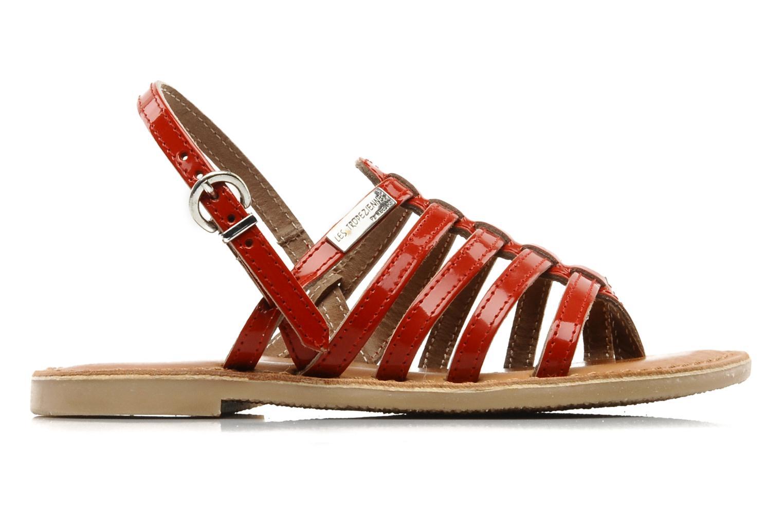 Sandales et nu-pieds Les Tropéziennes par M Belarbi Herisson E Rouge vue derrière