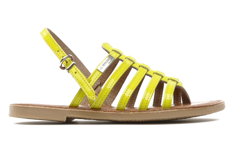 Sandales et nu-pieds Les Tropéziennes par M Belarbi Herflash E Jaune vue derrière