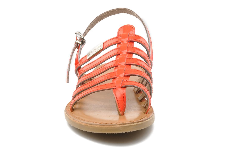 Sandales et nu-pieds Les Tropéziennes par M Belarbi Herflash E Rose vue portées chaussures