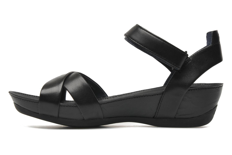Sandalen Camper Micro 21584 schwarz ansicht von vorne