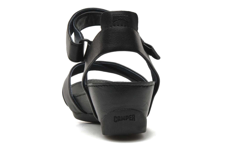 Sandalen Camper Micro 21584 schwarz ansicht von rechts