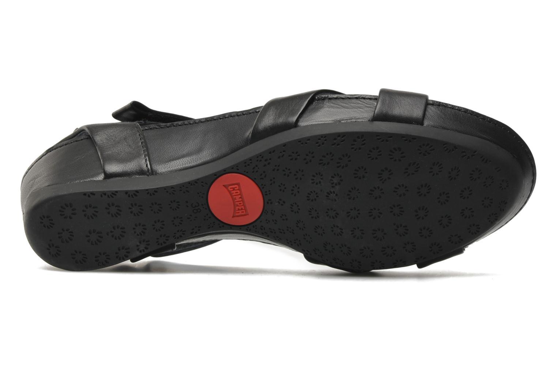 Sandalen Camper Micro 21584 schwarz ansicht von oben