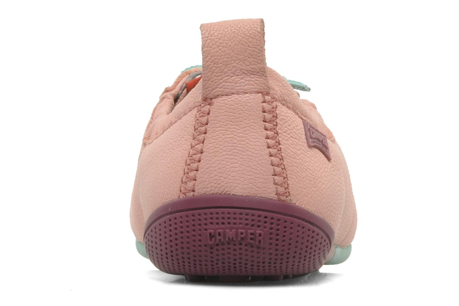 Trainers Camper Peu Circuit 80243 Pink view from the right