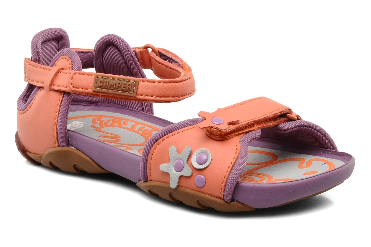 Sandals Camper Ous Kids 80312 Pink detailed view/ Pair view