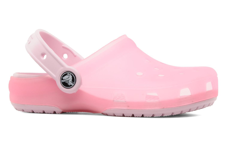 Sandales et nu-pieds Crocs Crocs Chameleons Translucent Clog Kids Rose vue derrière