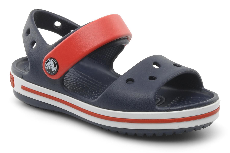 Sandales et nu-pieds Crocs Crocband Sandal Kids Bleu vue détail/paire