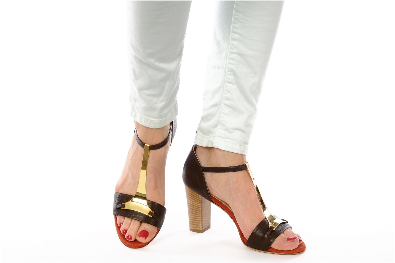 Sandali e scarpe aperte Atelier Mercadal Sandale Lee Marrone immagine dal basso