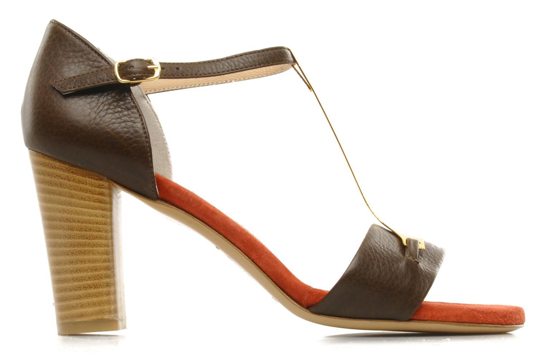 Sandali e scarpe aperte Atelier Mercadal Sandale Lee Marrone immagine posteriore