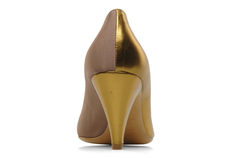 Høje hæle Atelier Mercadal Escarpin Vintage Vava Guld og bronze Se fra højre