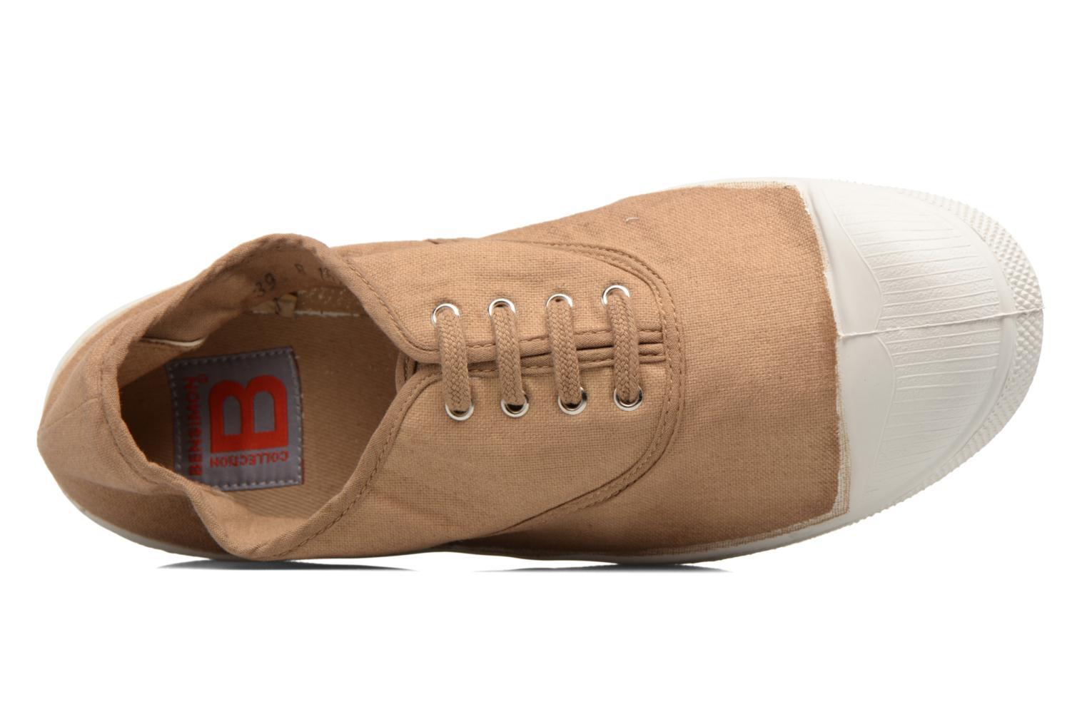 Trainers Bensimon Tennis Lacets Beige view from the left