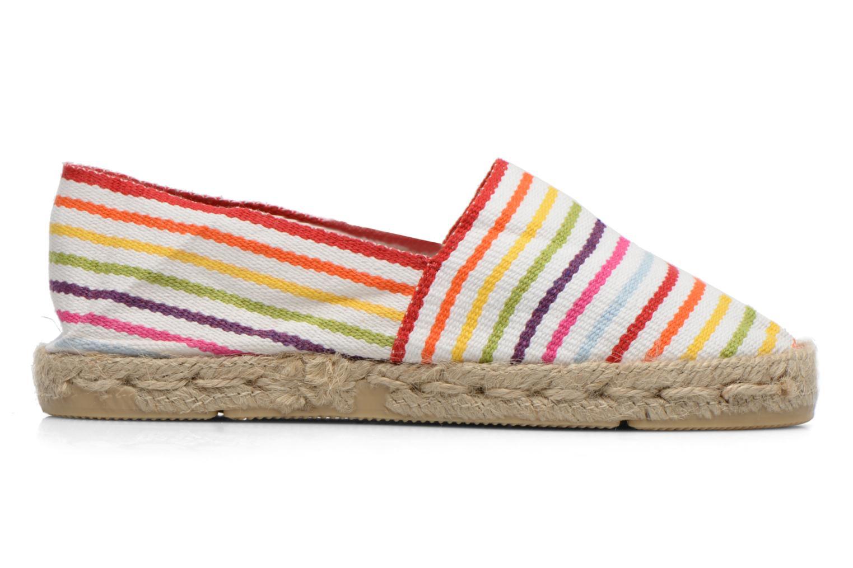 Scarpe di corda La maison de l'espadrille Sabline Rayure E Multicolore immagine posteriore