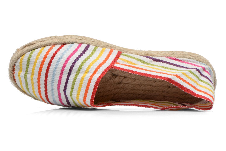 Scarpe di corda La maison de l'espadrille Sabline Rayure E Multicolore immagine sinistra