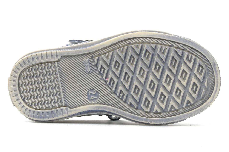Sandales et nu-pieds Minibel CEYLAN Bleu vue haut