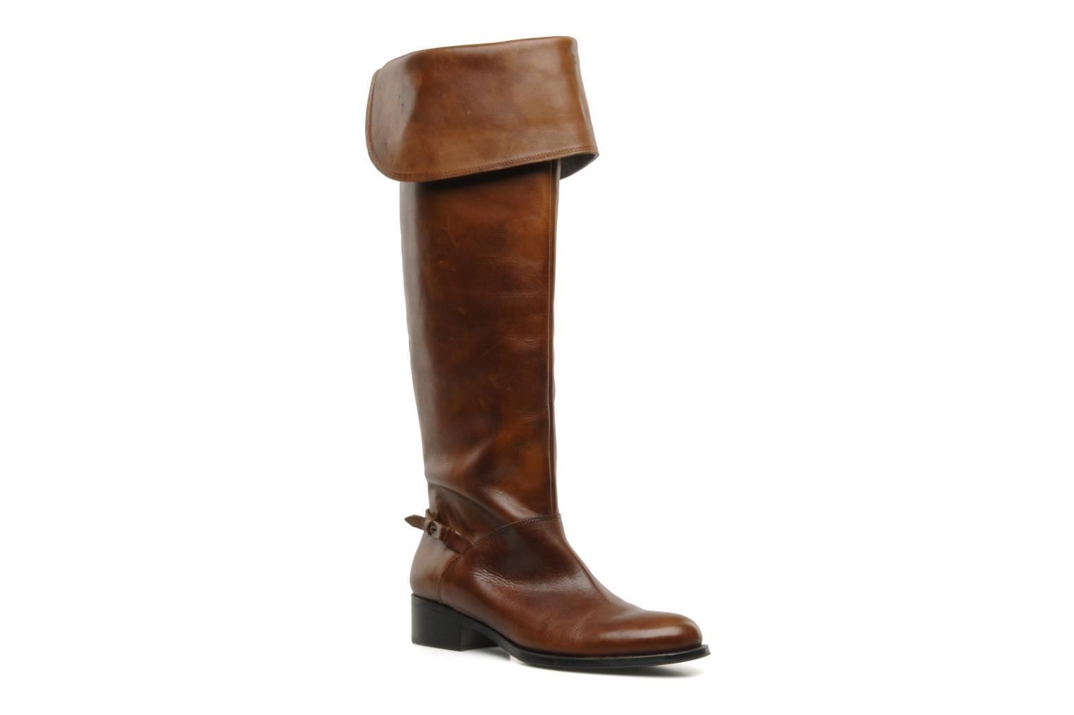 Boots & wellies Jonak Indi Brown detailed view/ Pair view