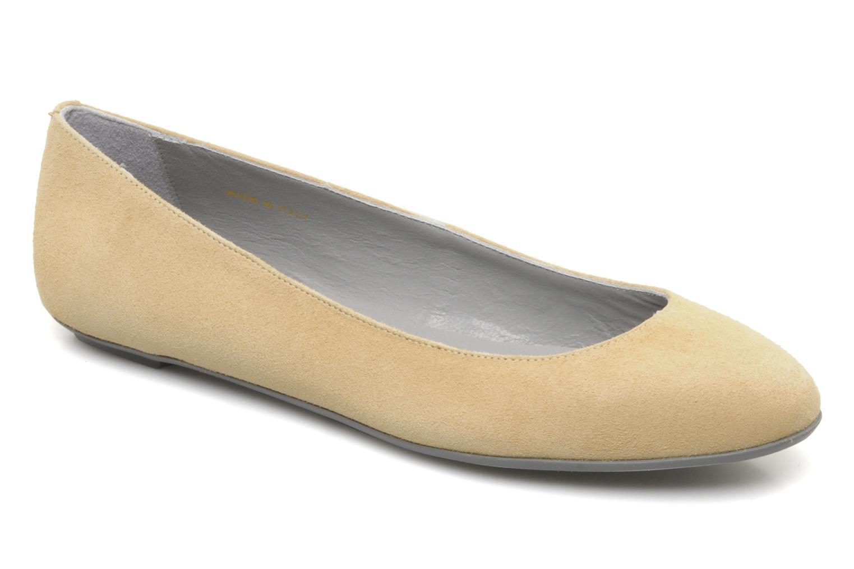 Ballerinaer Sergio Rossi Toritto Beige detaljeret billede af skoene