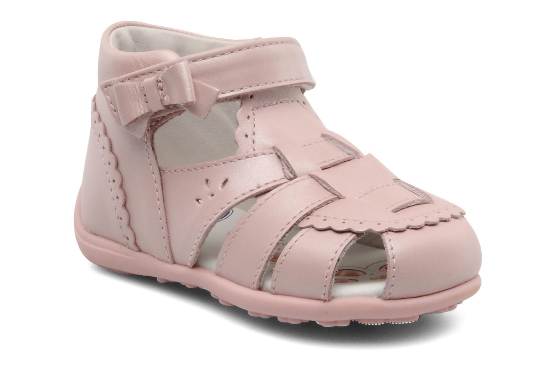 Sandales et nu-pieds Chicco GIARA Rose vue détail/paire