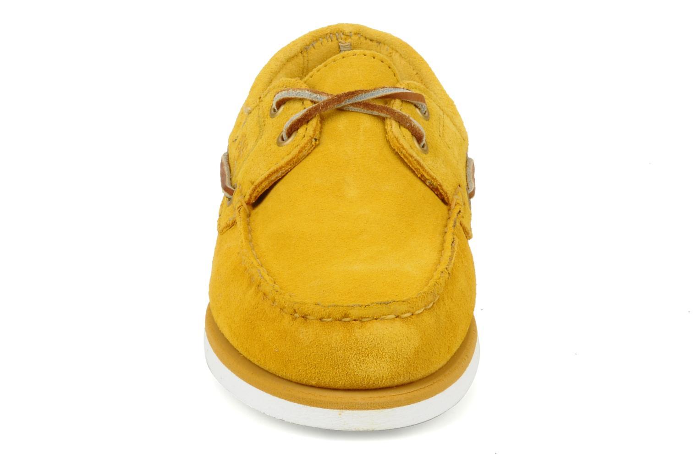 Chaussures de sport Timberland Amherst Jaune vue portées chaussures