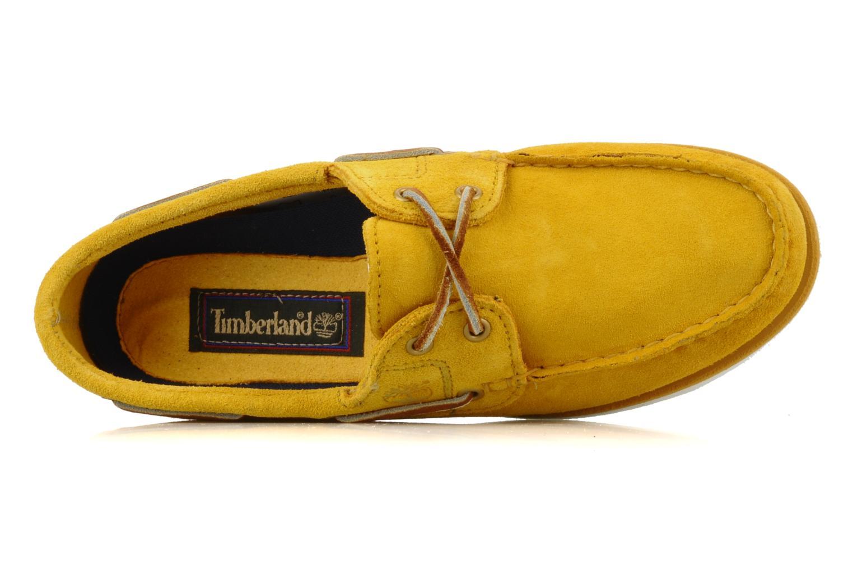 Chaussures de sport Timberland Amherst Jaune vue gauche