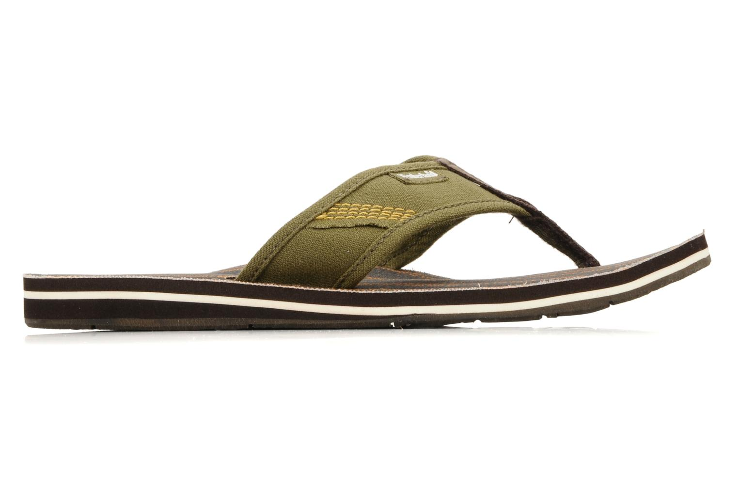 Flip flops Timberland Earthkeppers sandal Grqphic Flip Flop Green back view