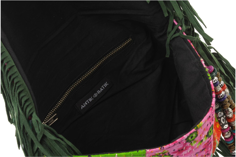 Clutch Antik Batik HIDA WALLET Groen achterkant