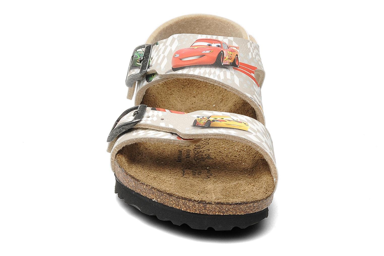 Sandales et nu-pieds Birki's Martinique Flor E Gris vue portées chaussures