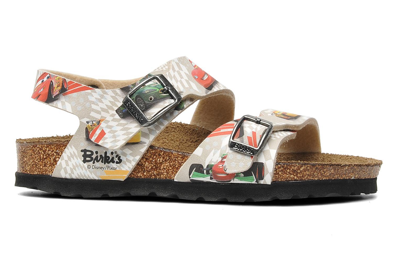 Sandales et nu-pieds Birki's Martinique Flor E Gris vue derrière