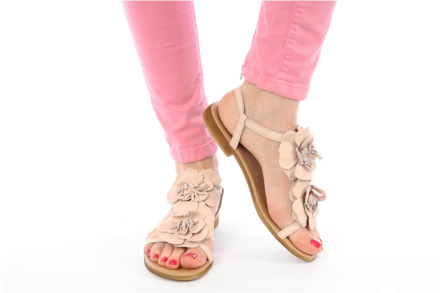 Sandals Georgia Rose cernesta Pink view from underneath / model view