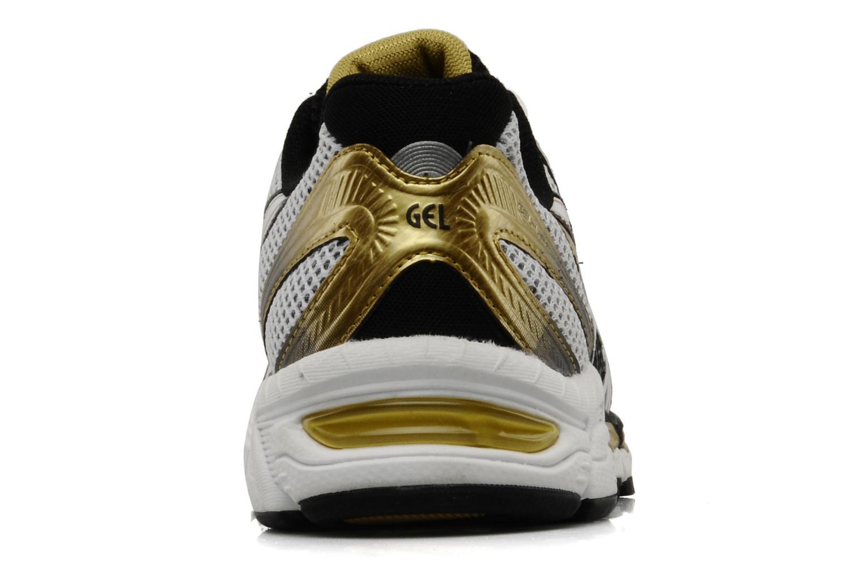 Chaussures de sport Asics Gel Virage 6 Blanc vue droite