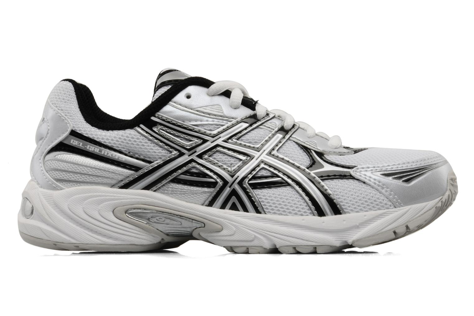 Sport shoes Asics Gel Galaxy 5 GS White back view